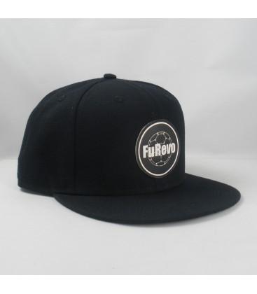 Furevo Snapback - black/leather